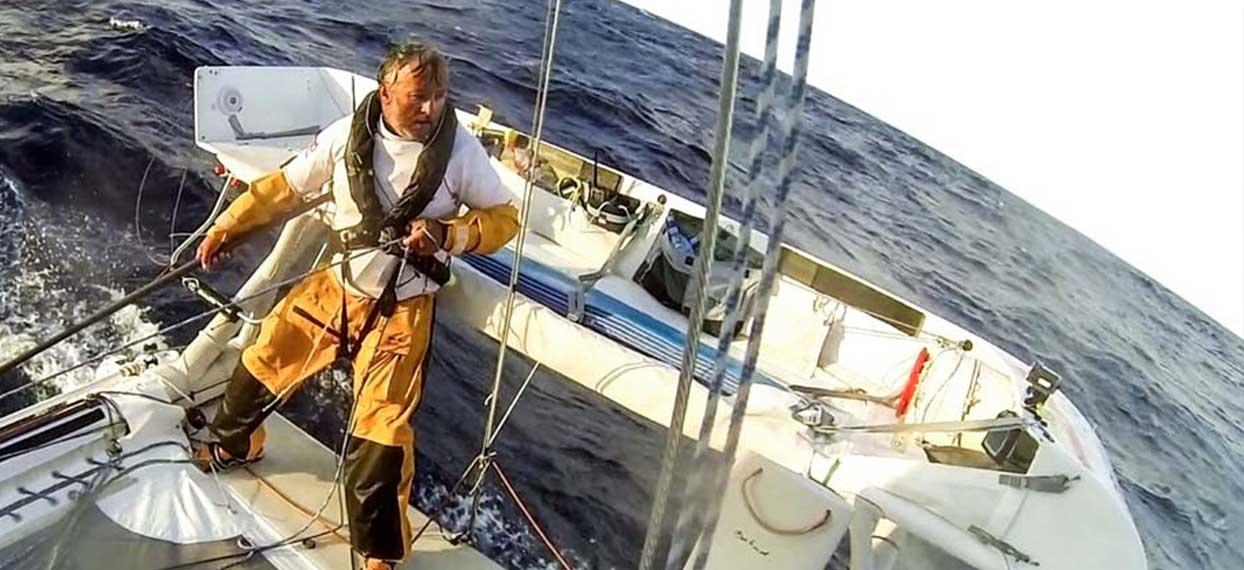 Film documentaire : En équilibre sur l'océan