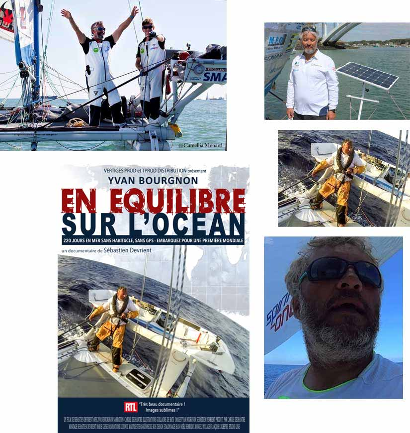 Images du film documentaire : En équilibre sur l'océan