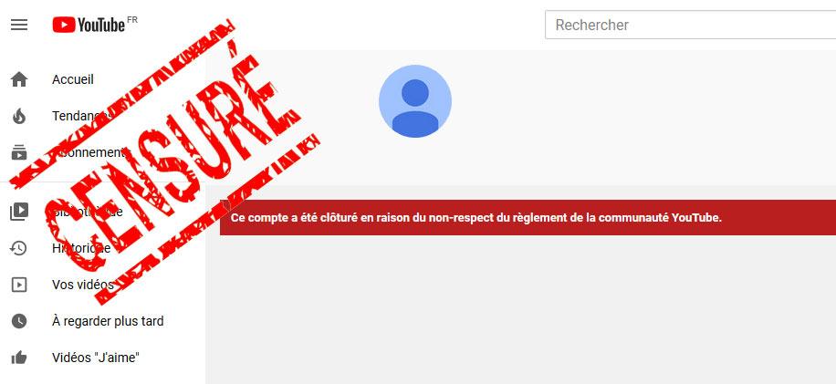 La chaine Thana TV de Youtube censurée !